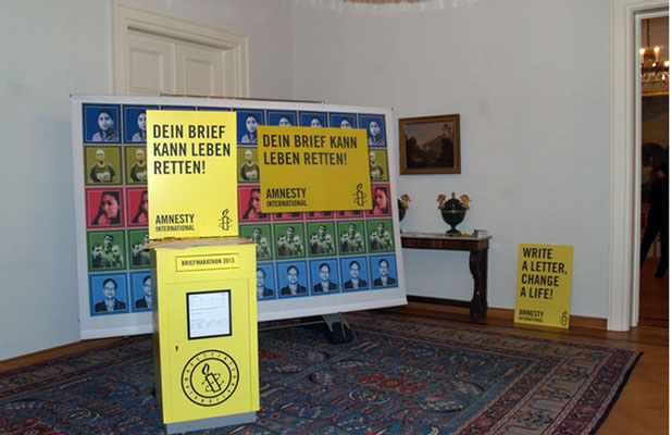 Amnesty International: Briefmarathon 2013